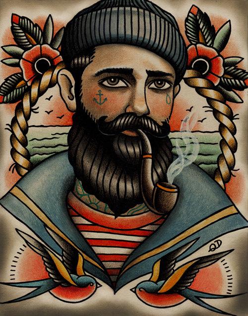 Tattoosday: Parlor Tattoo Prints
