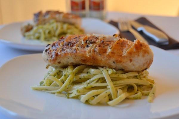 Tattooed Martha - Basil Pesto Linguine with Chicken (2)
