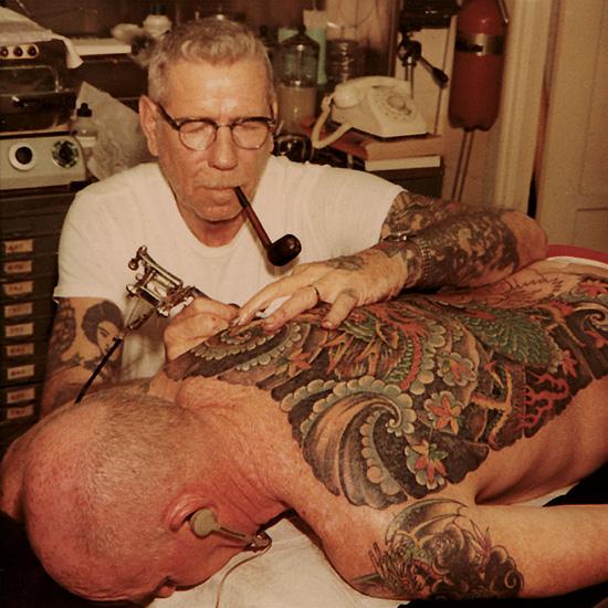 Tattoosday: Norman 'Sailor Jerry' Collins