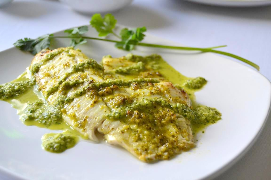 Spicy Cilantro Lime Tilapia