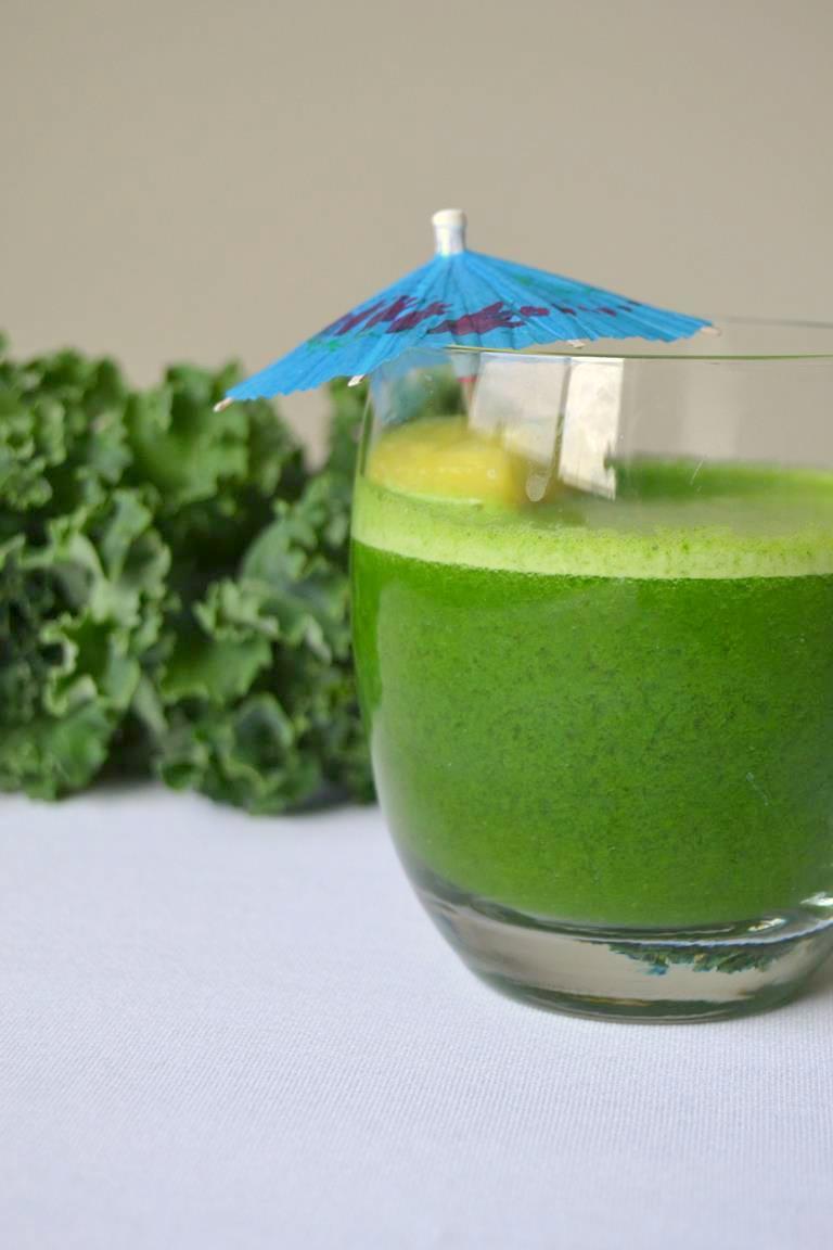 Tropical Pineapple Green Juice