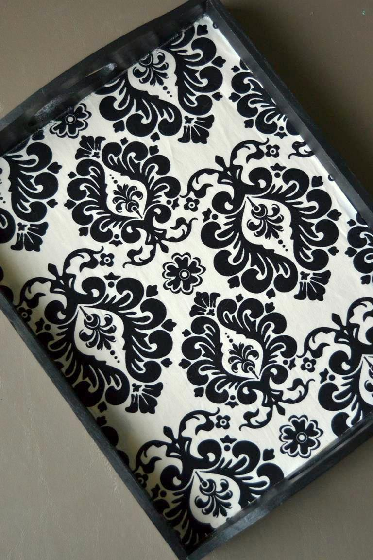 Tattooed Martha - Fabric Lined Serving Trays (10)