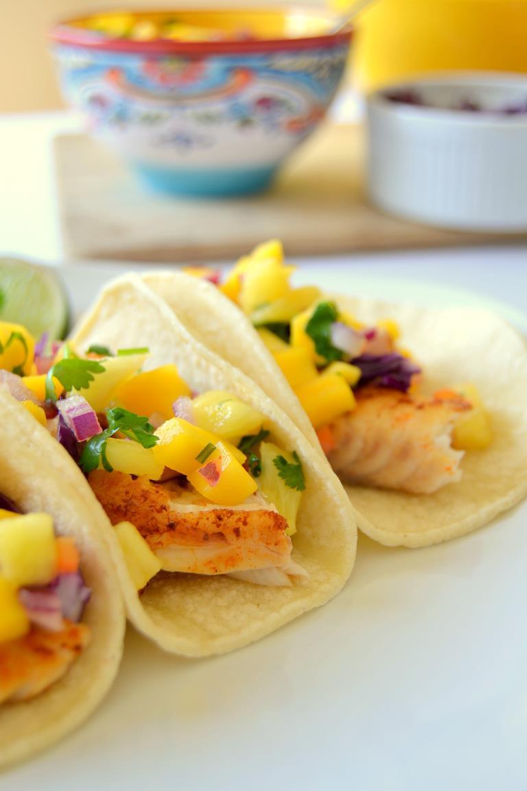 Tattooed Martha - Mini Fish Tacos with Mango Habanero Salsa (11)