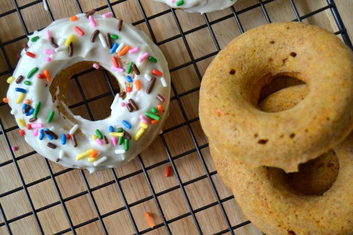 Tattooed Martha - Rum Spiked Carrot Cake Doughnuts (10)