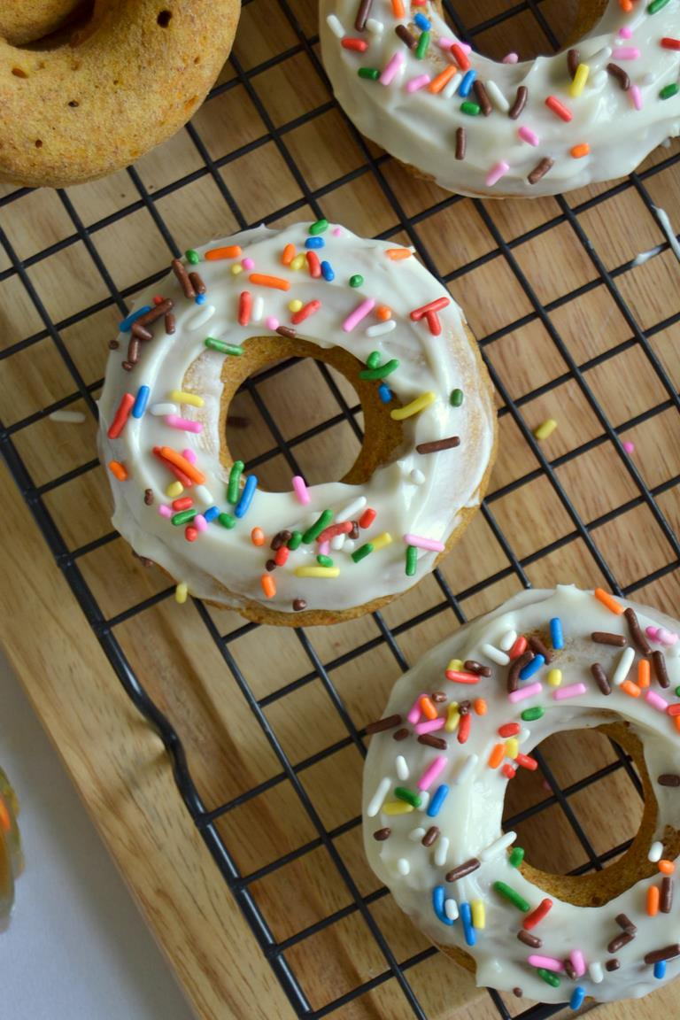 Tattooed Martha - Rum Spiked Carrot Cake Doughnuts (12)