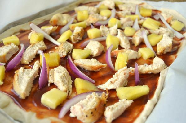 Tattooed Martha - BBQ Chicken Pizza with Pineapple Guacamole (10)