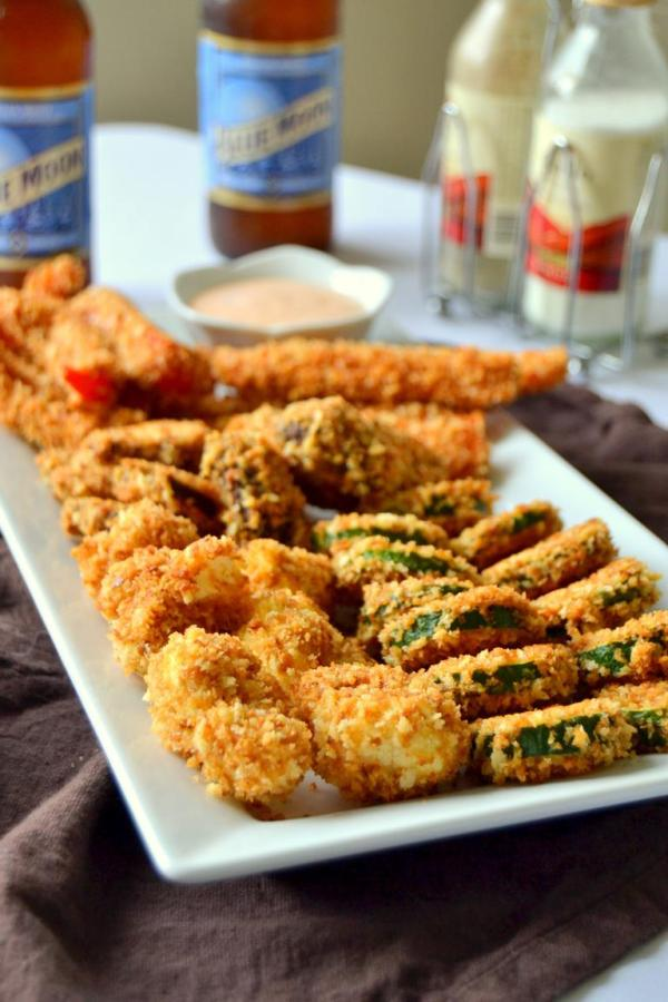 Tattooed Martha - Baked Fried Vegetables with Spicy Ranch Sauce (7)