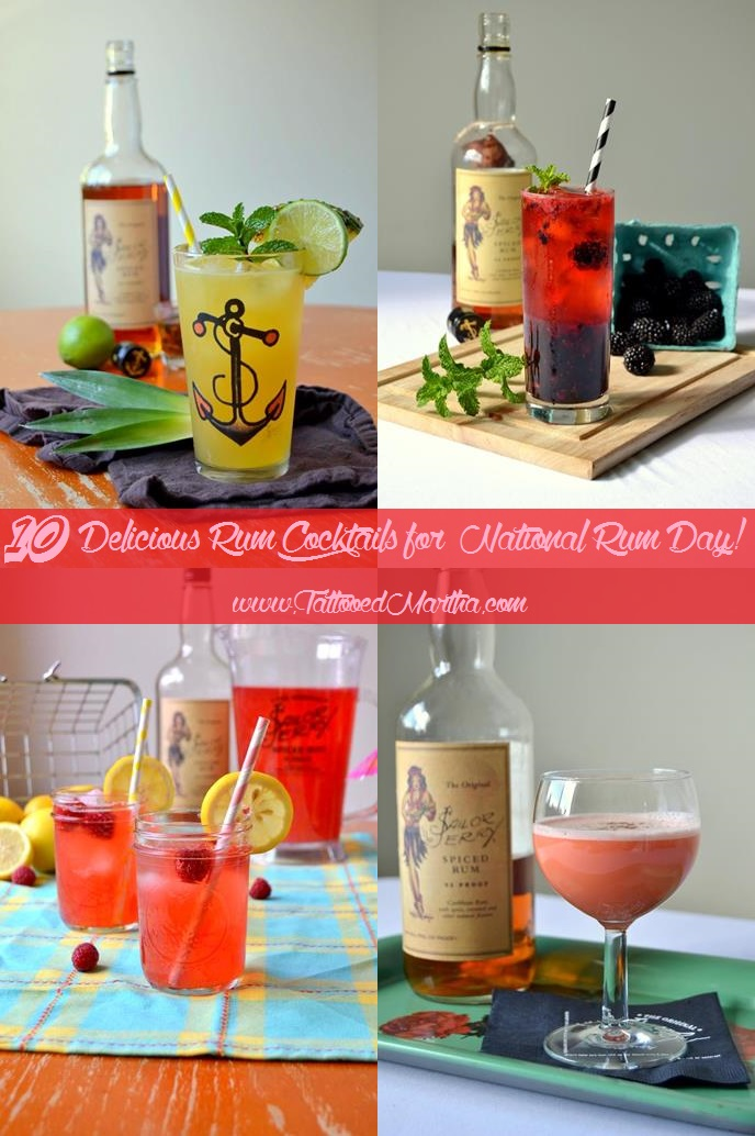10 Delicious Rum Cocktails for National Rum Day