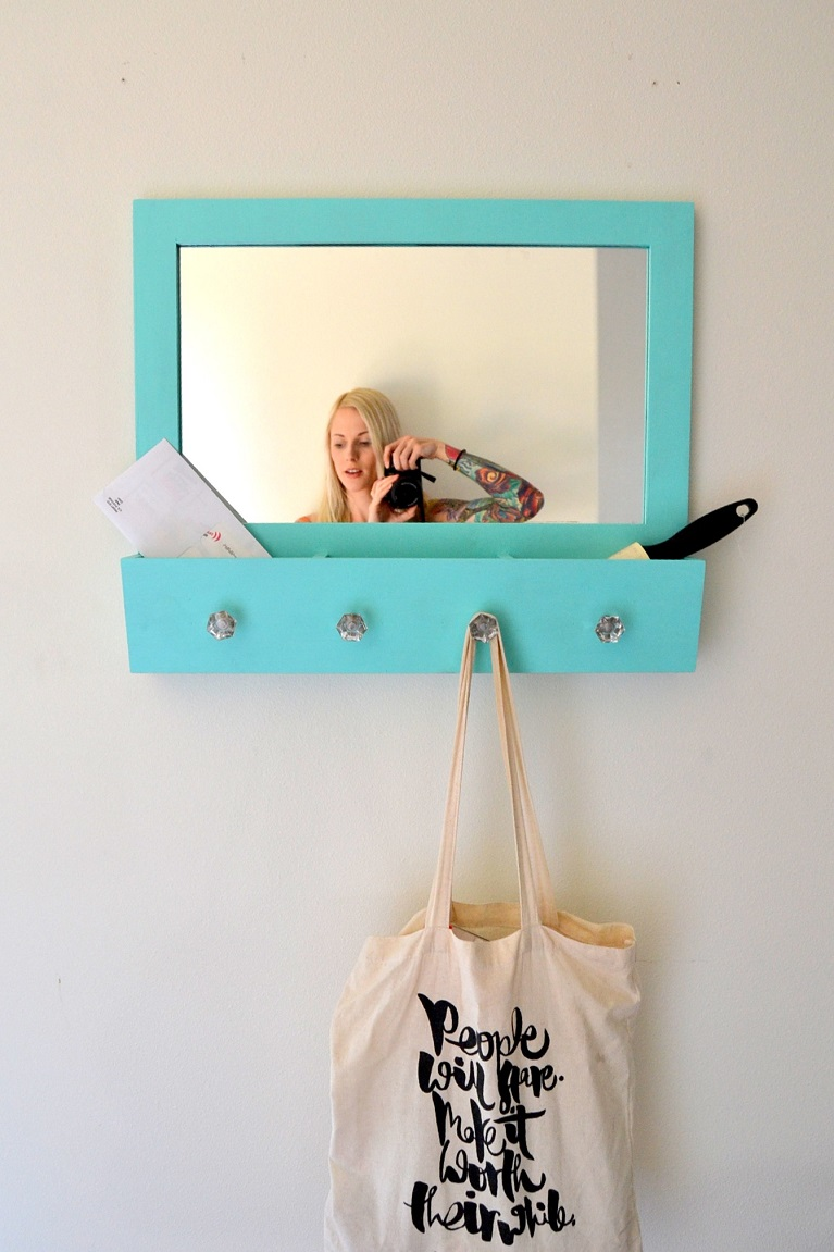 Tattooed Martha - Entryway Mirror Makeover (14)