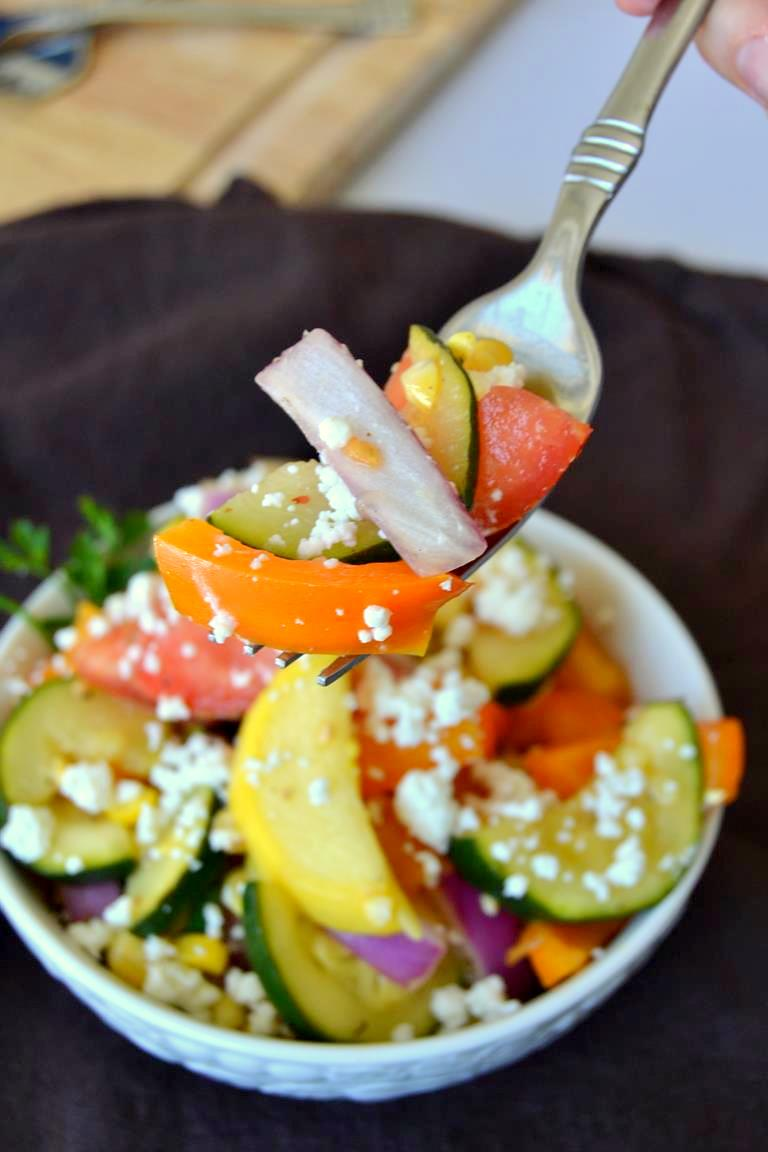 Tattooed Martha - Lemon & Thyme Summer Vegetable Salad (8)