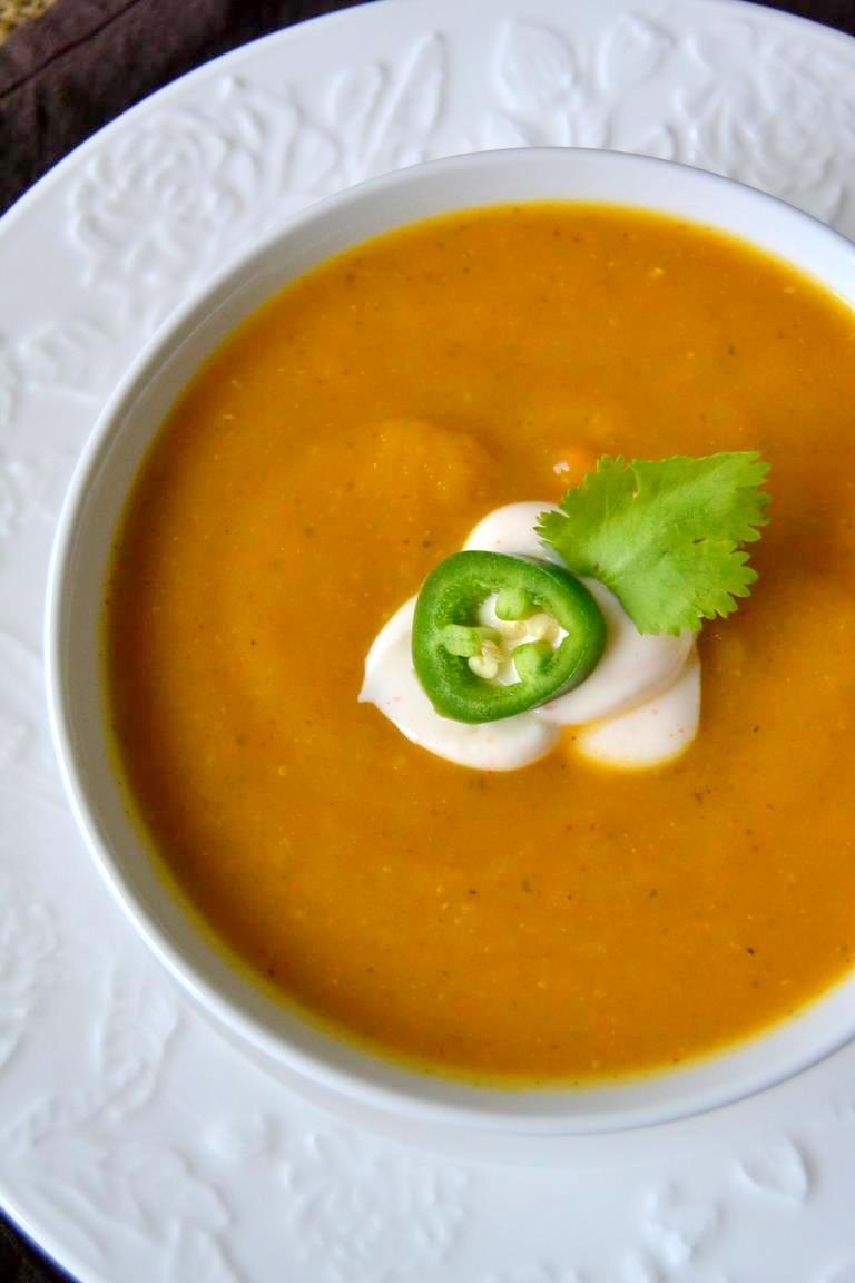 Tattooed Martha - Spicy Butternut Squash Soup (6)