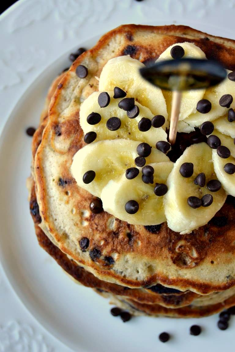 Tattooed Martha - Rum Spiked Chocolate Chip Banana Pancakes (9)
