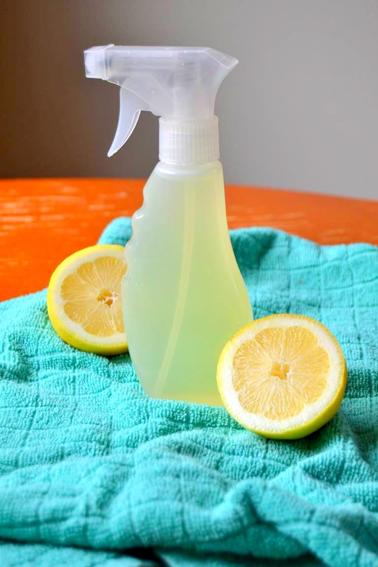 Natural Lemon and Thyme Kitchen Cleaner