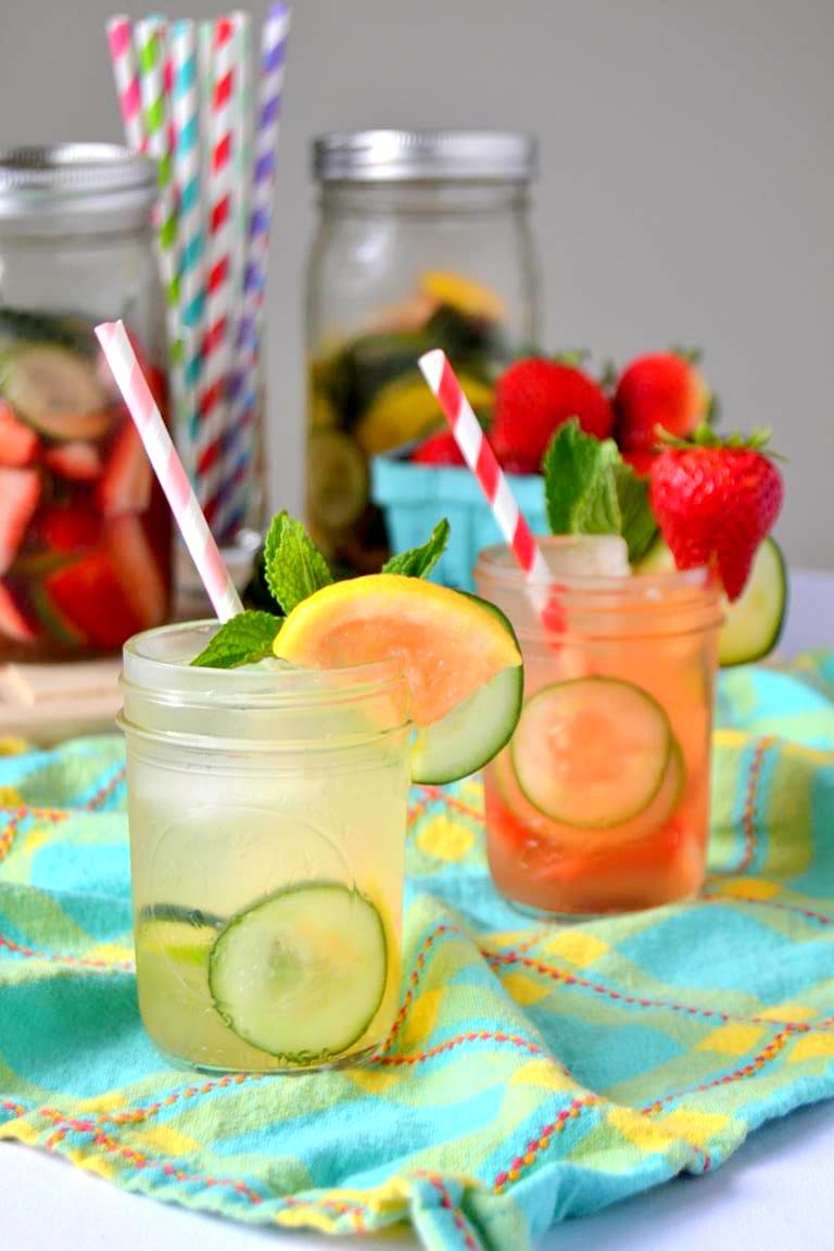 Cucumber Summer Sangria – Two Ways