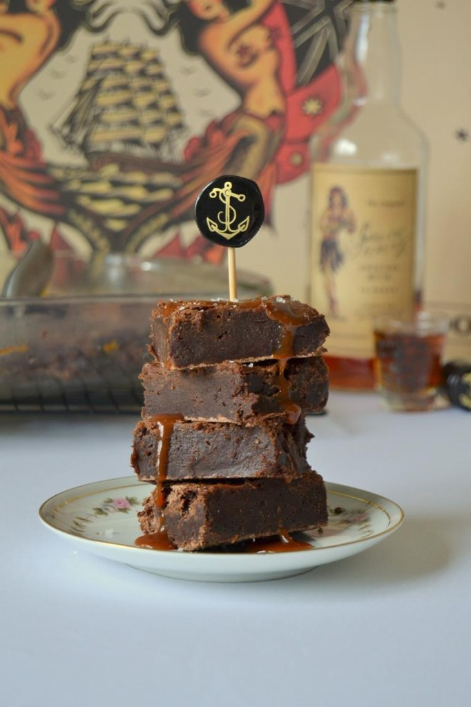Tattooed-Martha-Boozy-Brownies-with-Salted-Caramel-Rum-Sauce-4-682x1024
