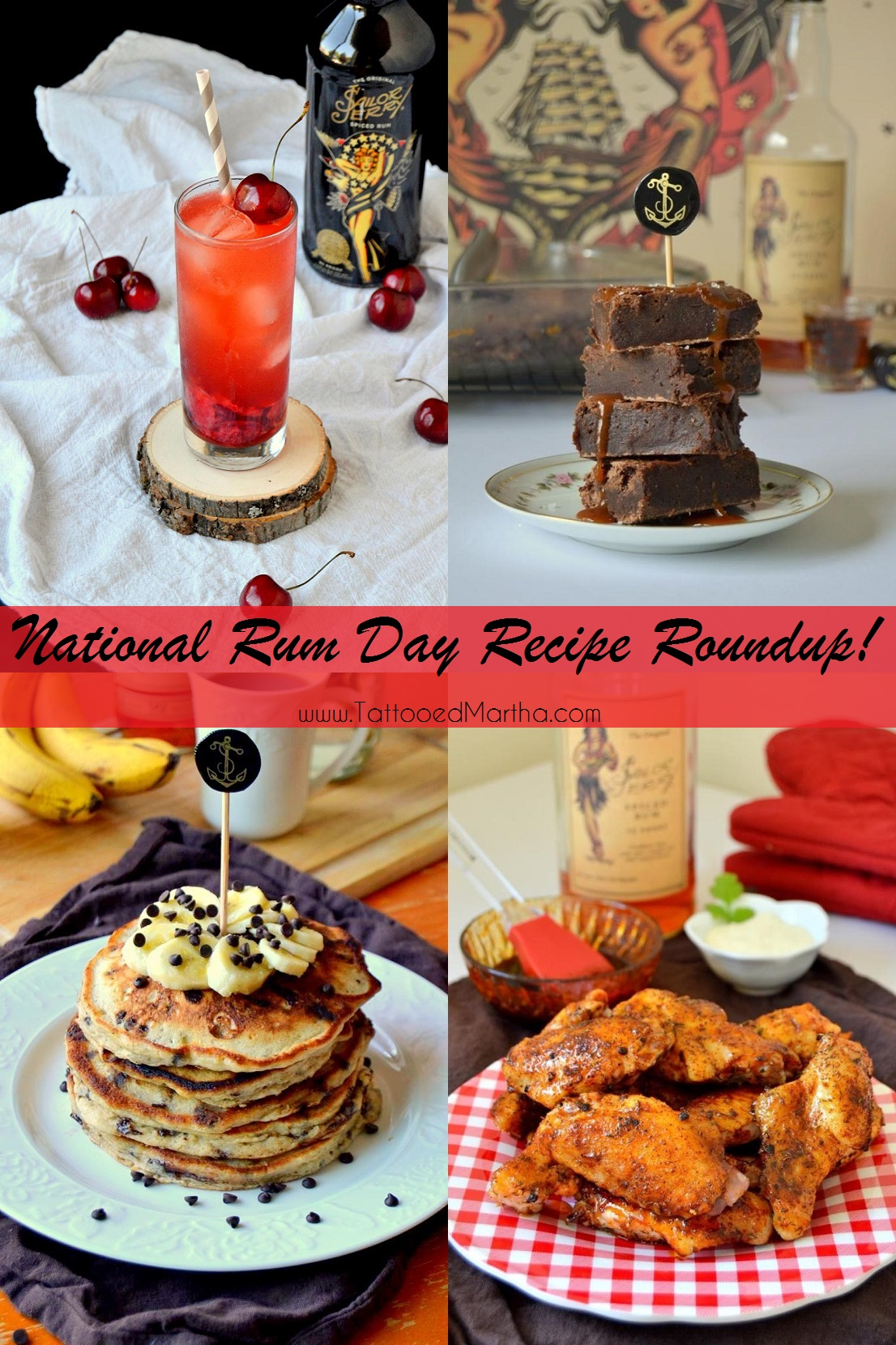 National Rum Day Recipe Roundup