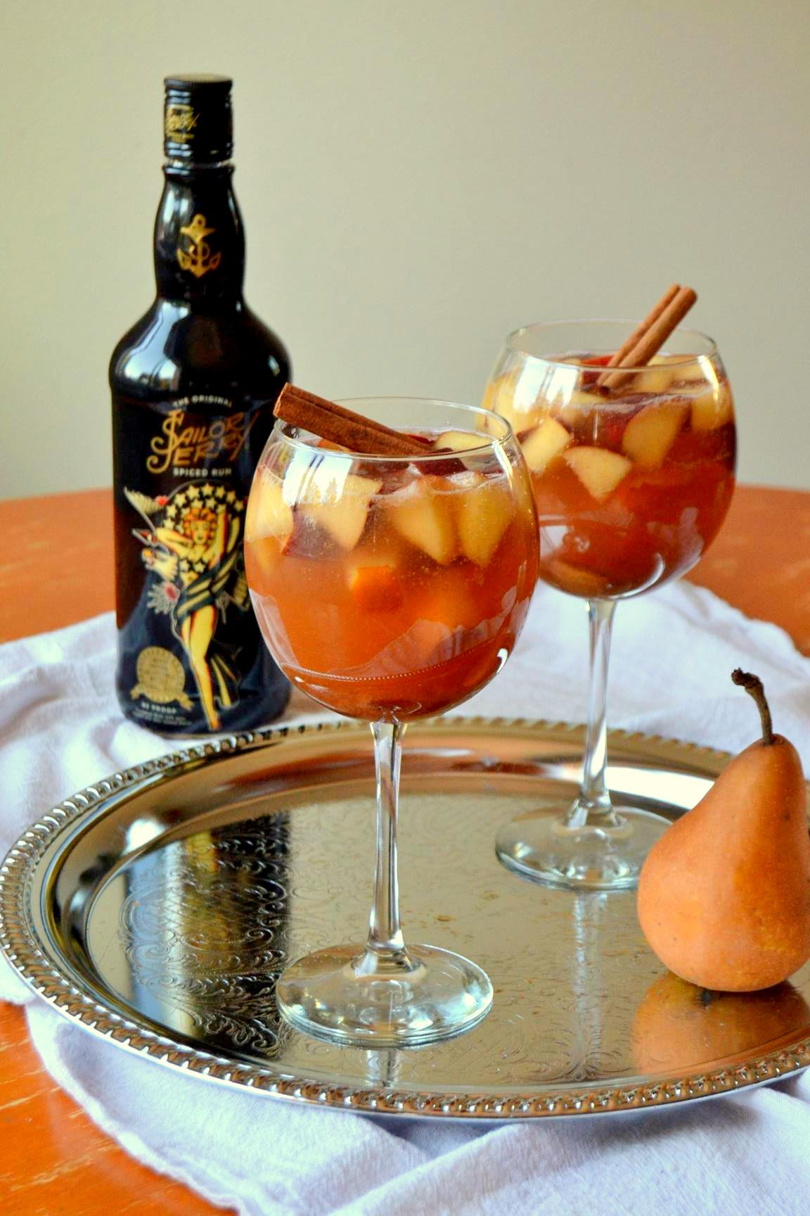 Autumn Spiced Sangria