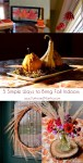 5 Simple Ways to Bring Fall Indoors