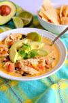 One-Pot Creamy Chicken Tortilla Soup