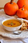 Smoky Bacon Pumpkin Soup