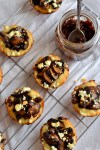 Mushroom Tartlets with Caramelized Onion Jam