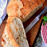 Fair Robin Revival - No-Knead Crusty Herb Bread