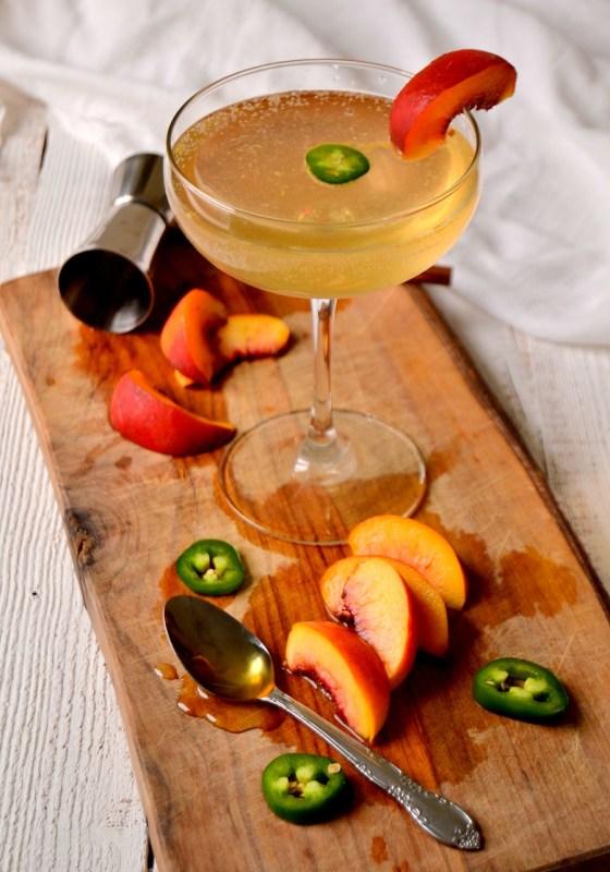Fair Robin Revival - Spicy Jalapeno Peach Cocktail