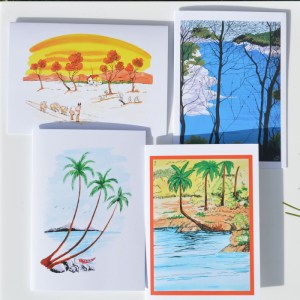 Fair Trade Cards Indian landscapes – pack of four – CPil