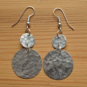 silver plated fair trade earrings