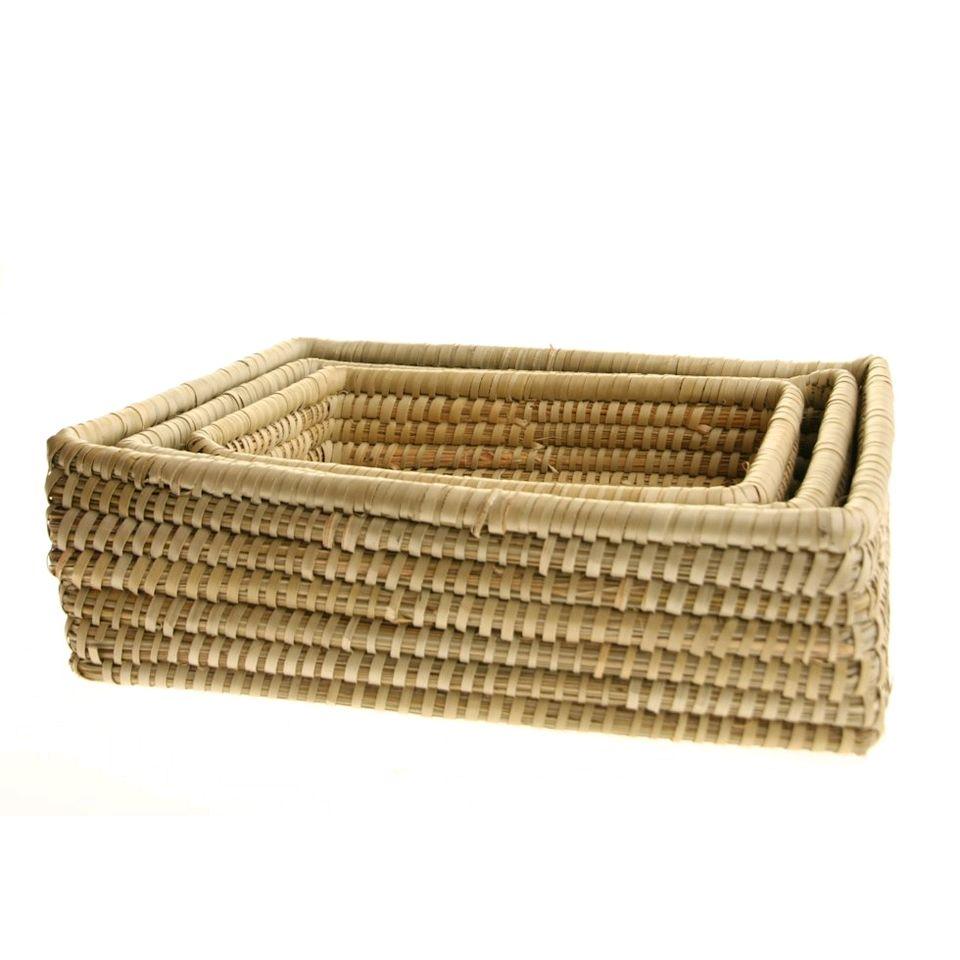 Fair Trade Rectangular Basket Set 899 Fair Trade Product