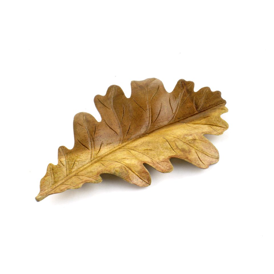 Fair Trade Oak Leaf Carving 187 163 10 99 Fair Trade Product