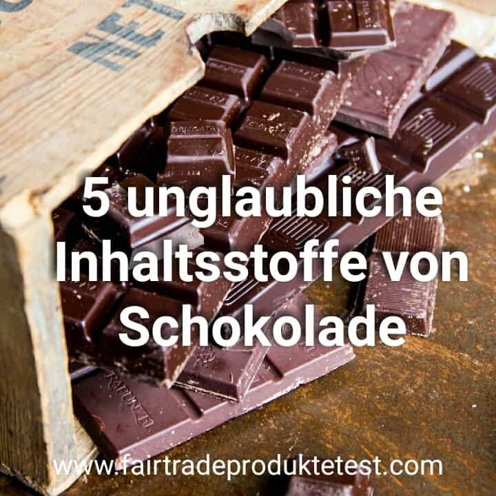 5 unglaubliche Inhaltsstoffe Schokolade und Domain