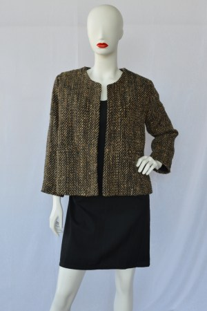 handwoven silk jacket