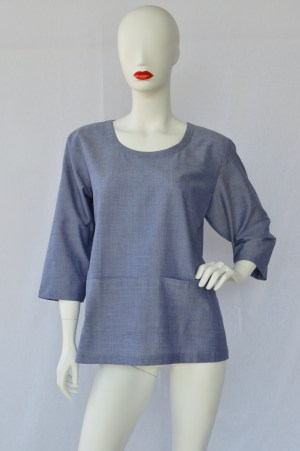 round neck fair trade top