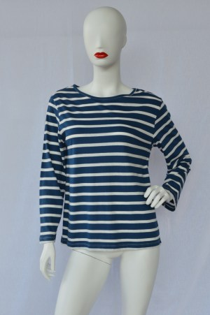 fair trade organic stripy top