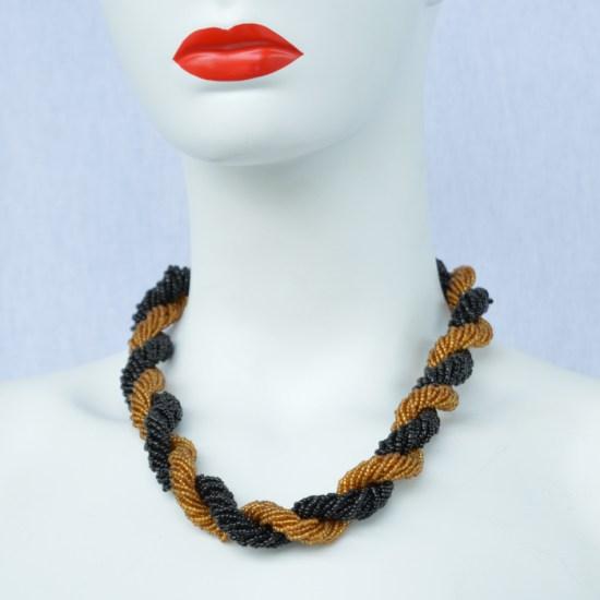 masai bead necklace