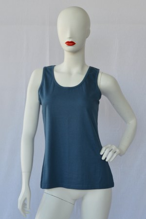 fair trade scoop neck vest