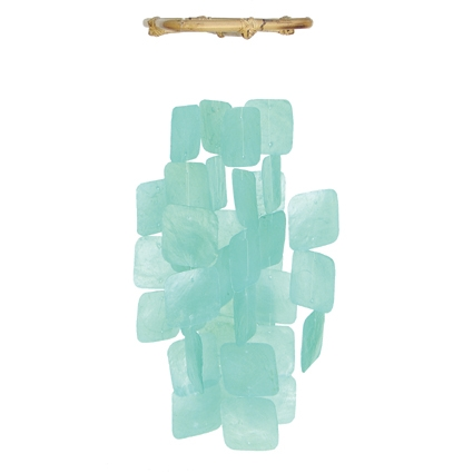 Square Turquoise Chimes