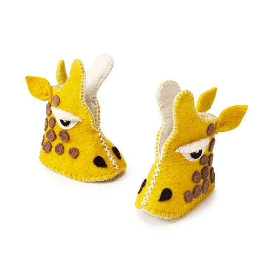Baby Shoes Giraffe