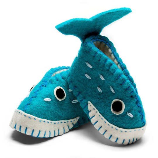 Baby Shoes Whale