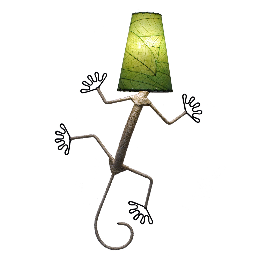 Gecko Leaf Lamp Fair Trade Winds