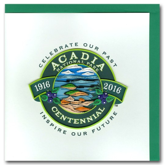 Acadia National Park Centennial Card