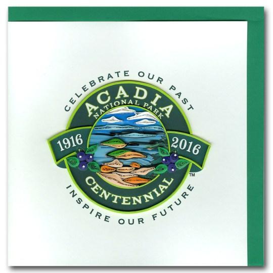 Acadia National Park Centennial Card