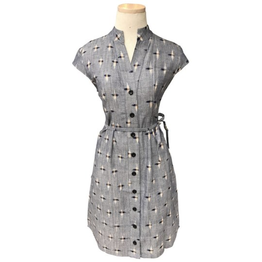 Chambray_Ikat_Button_Dress