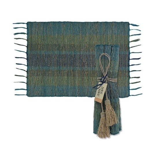 deep forest vetiver placemats