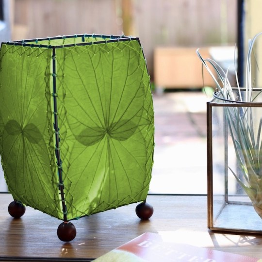 leaf lamp green