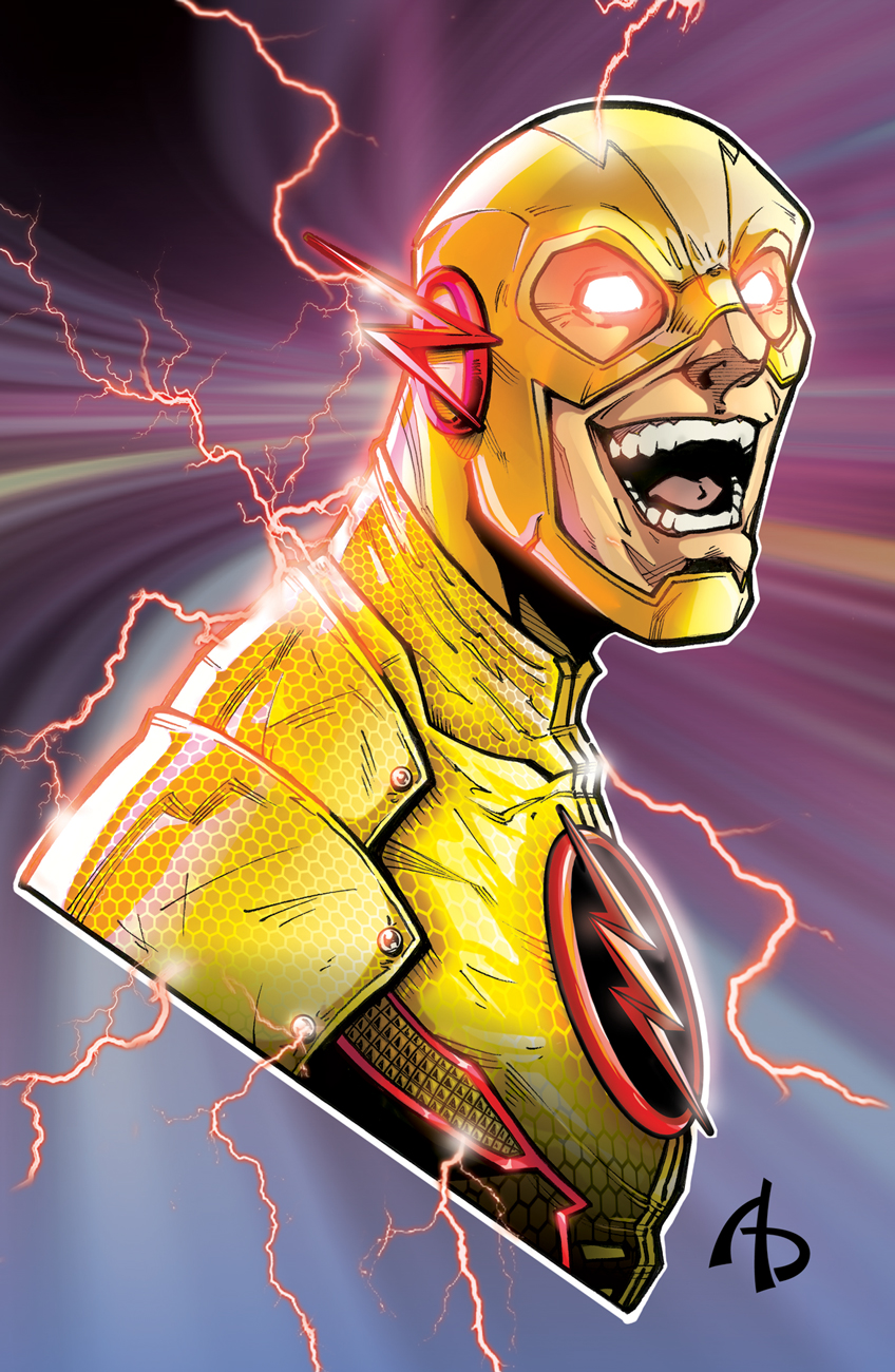 Reverse Flash by Adam Buttrey - Artist
