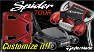 TaylorMade Spider Tour Custom Putters