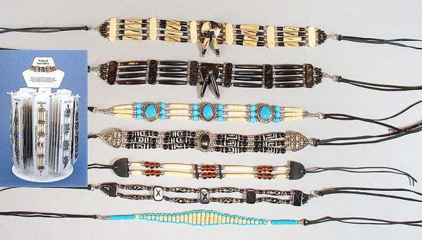 Native American Bone Chokers