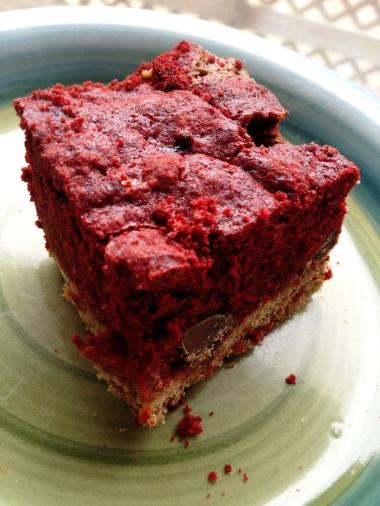 Red Velvet Cake Made With Applesauce